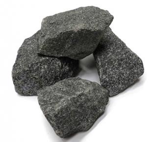 Камни габбро диабаз для бани и сауны