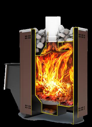 Дровяная банная печь «Тамань» Т