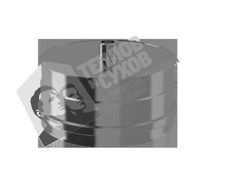 Заглушка с конденсатоотводом 0,5 см
