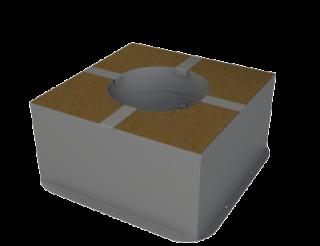 GrillD Потолочно-проходной узел утепленный