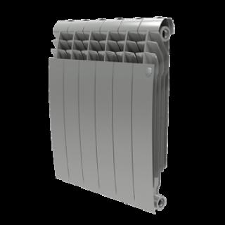 Радиатор Biliner 500/Silver Satin - 12 секц.