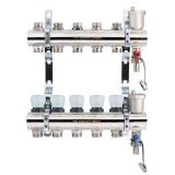 Коллекторный блок с рег/клапанами в сборе