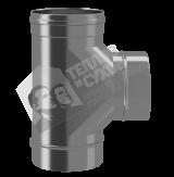 Тройник моно 90 гр 0,8 мм