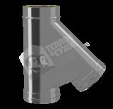Тройник термо 45 гр 0,8 мм
