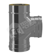 Тройник Термо 90 гр 0,8 мм