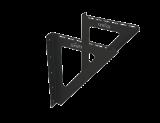 GrillD Консоль настенная ЧС 2мм (L400 ), черный (порошковая краска)