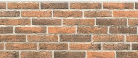 Фиброцементная панель NICHIHA Плитка/Кирпич (Красный) EJ492E 455*1010*16 мм