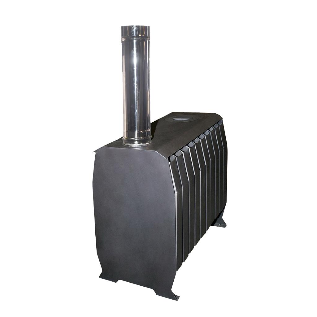 Печь «Теплушка В ЧД 100» с чугунной дверкой