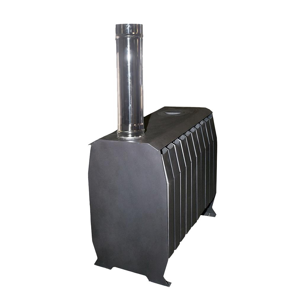 Печь «Теплушка В ЧД 300» с чугунной дверкой