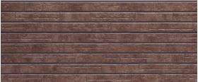 Фиброцементная панель NICHIHA Камень (Темно-корич.) WFX442G 455*3030*14 мм